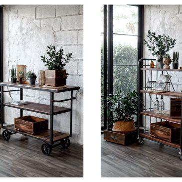 IDEALIZE Love Plant.☘️ ชั้นวางของสวยๆ Industrial Style วางต้นไม้ก็ได้ วางของก็ดี  ราคาพิเศษ 8,625 บาท (จากปกติ 11,500 บาท) *ส่งฟรี กรุงเทพ และปริมณฑล